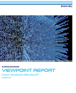 VP Fall 2015 report - Are your data secure - report front cover